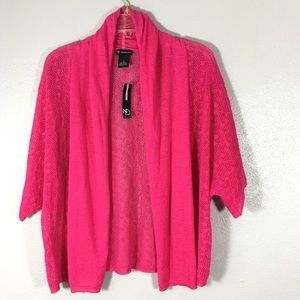 NWT ND Open Front Cardigan Sweater Shrug Small